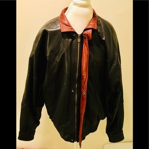 VINTAGE: 💯% Authentic Men's Saxony Leather Jacket